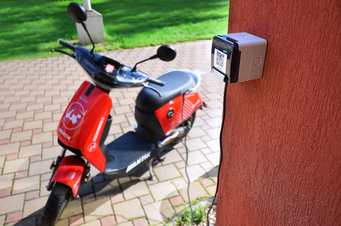 Custom Mobility Charger Sharing With NANO-E Charging Power Socket
